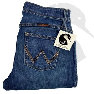 Wrangler Q-Baby Western Cowgirl Jeans 7/8